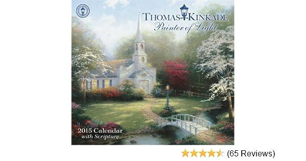 thomas kinkade lightposts for living 2010 mini day to day calendar