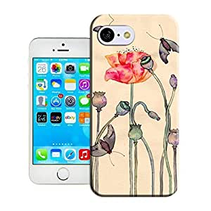 Andre-case BreathePattern-The Butterfly On The Lotus Plastic protective case cover-Apple iPhone 5c v17HBnBeTSk case cover