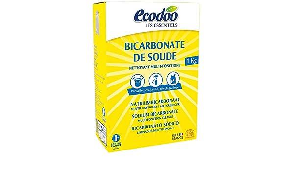 Bicarbonato Sódico Ecodoo 1kg: Amazon.es: Hogar