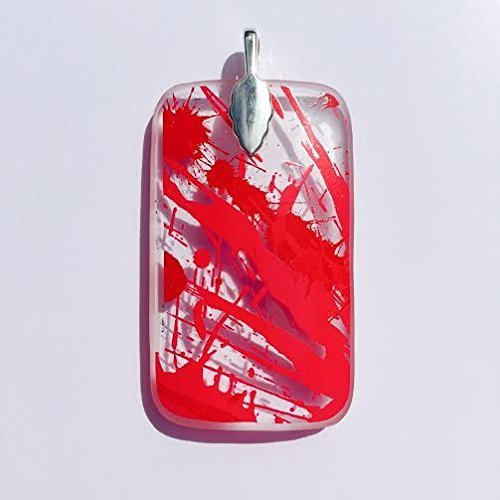 recycled-glass-pendant-from-a-discarded-absolut-raspberry-glass-bottle