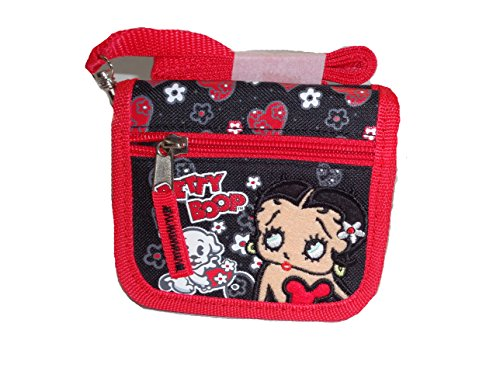 (Betty Boop Wallet with Detachable Shoulder Strap)