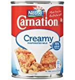 Nestle Carnation Creamy Evaporated Milk 375 ml, 375 ml