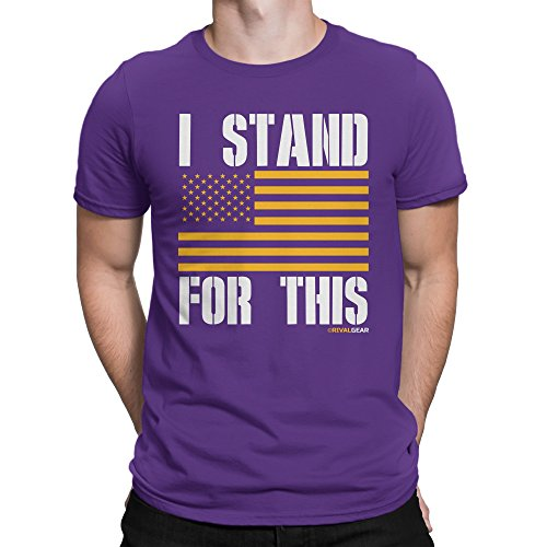 Rival Gear Minnesota Football Fan T-Shirt, I Stand for This (S)