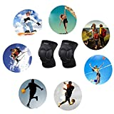 Knee Pads for volleyball Work Construction Gardening Cleaning and Dance dancing Knee Protective Pad Protection for adult Youth kids women men by GRANDCOW(1 Pair/2 pcs Knee Pads included)