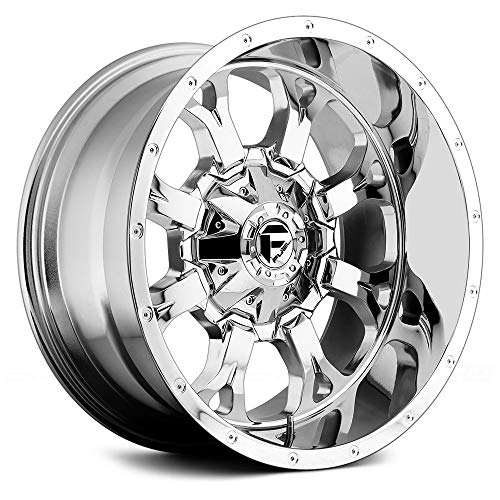 (Fuel D516 Сustom Wheel - Krank Deep Lip Series Chrome 20