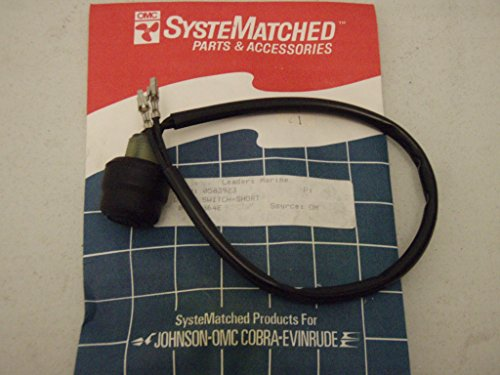 Johnson/Evinrude/OMC New OEM Tiller Handle Stop/Kill Switch 583923, 0583923