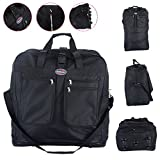 """40"""" Rolling Wheeled Duffel Bag Spinner Suitcase Spinning Luggage Black New"""