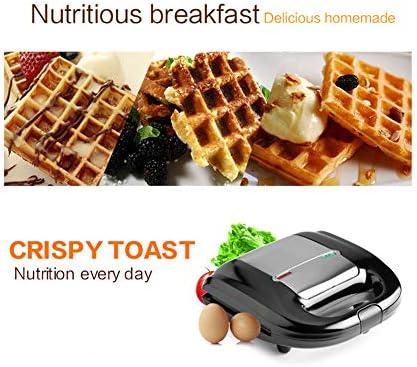 Waffeleisen Elektro Waffeln Maker Bügeleisen Sandwich Maker Machine Bubble Eierkuchen Ofen Frühstück Waffeleisen