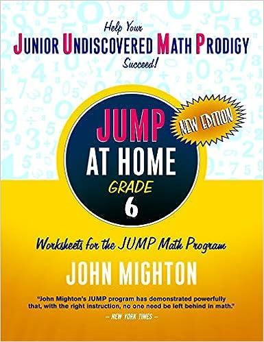Libro PDF Gratis Jump At Home, Grade 6: Worksheets For The Jump Math Program (jump (junior Undiscovered Math Prodigy))