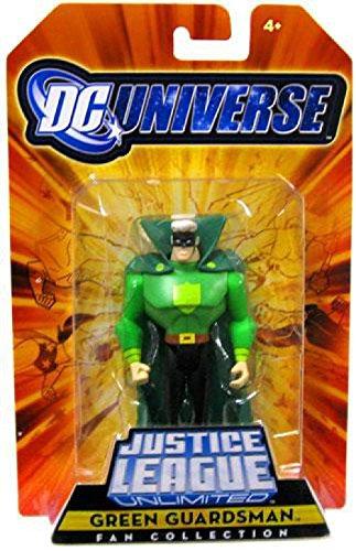 Mattel DC Universe Justice League Unlimited Fan Collection Green Guardsman Action Figure