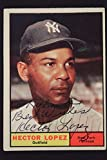 Hector Lopez New York Yankees Autographed Topps #28 Signed Card 16I