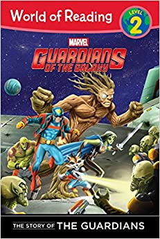 Book The Story of the Guardians Level 2 Reader The Story of the Guardians: World of Reading Level 2
