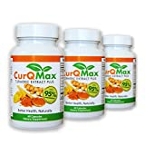 Buy 2 Get 1 Free Save , Turmeric Curcumin Supplement, Anti Inflammatory, it is Natural & Safe, Helps Relieve Joint Pain & Inflammation, Enjoy a Healthier Life, Curcumin, Curcuminoid95% & Bioperine