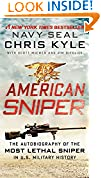 #10: American Sniper: The Autobiography of the Most Lethal Sniper in U.S. Military History