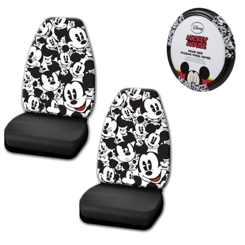 A set of 3 Piece Automotive Gift Set: 2 Front Highback Seat