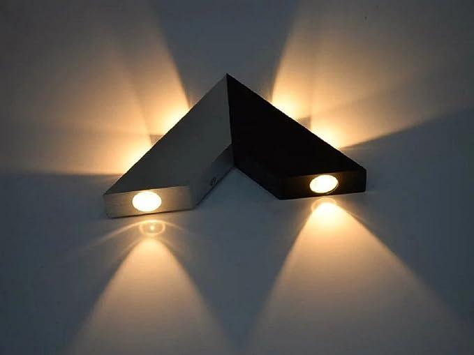 Lightess lampada da parete a led stile moderno applique da parete