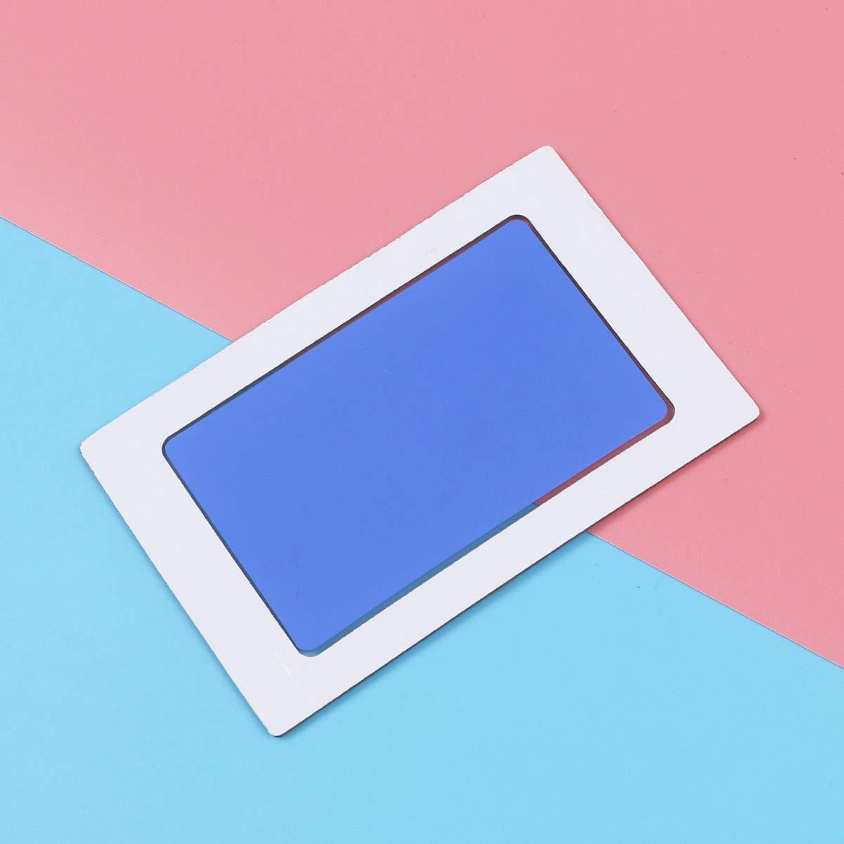 Toyvian regalo de kit de impresi/ón segura de almohadilla de tinta de huella de mano de beb/é para beb/é y mascotas azul cielo