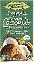 Let's Do Organic Creamed Coconut, 7 Ounc...