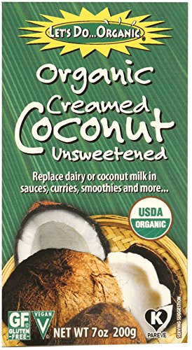 - Let's Do Organic Creamed Coconut, 7-Ounce Boxes (Pack of 6)