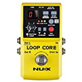 Nux Loop Core Guitar Effect Pedal Looper 6 Hours Recording Time, 99 User Memories, Drum Patterns...