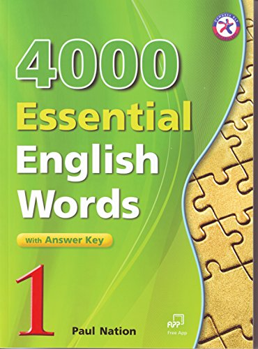 4000 Essential English Words, Book 1 with Answer Key (4000 English Words Essential)