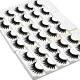Wleec Beauty False Eyelash Pack Thick Eyelashes Handmade Strip Lashes #69 (15 Pairs/3 Pack)