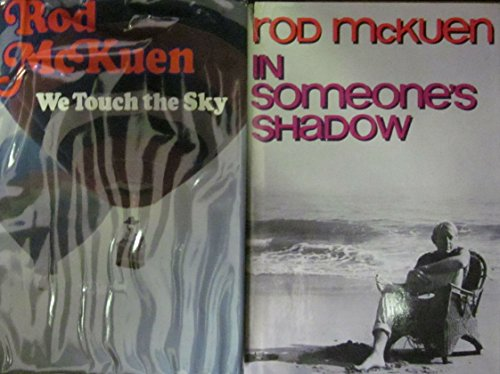 Two Rod McKuen Hard Covers (In Someone's Shadow; We Touch The Sky)