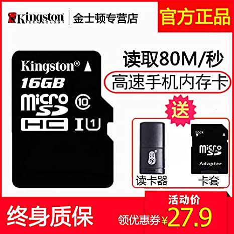 Amazon.com: t:mon Kingston 16g Phone Memory Card high-Speed ...