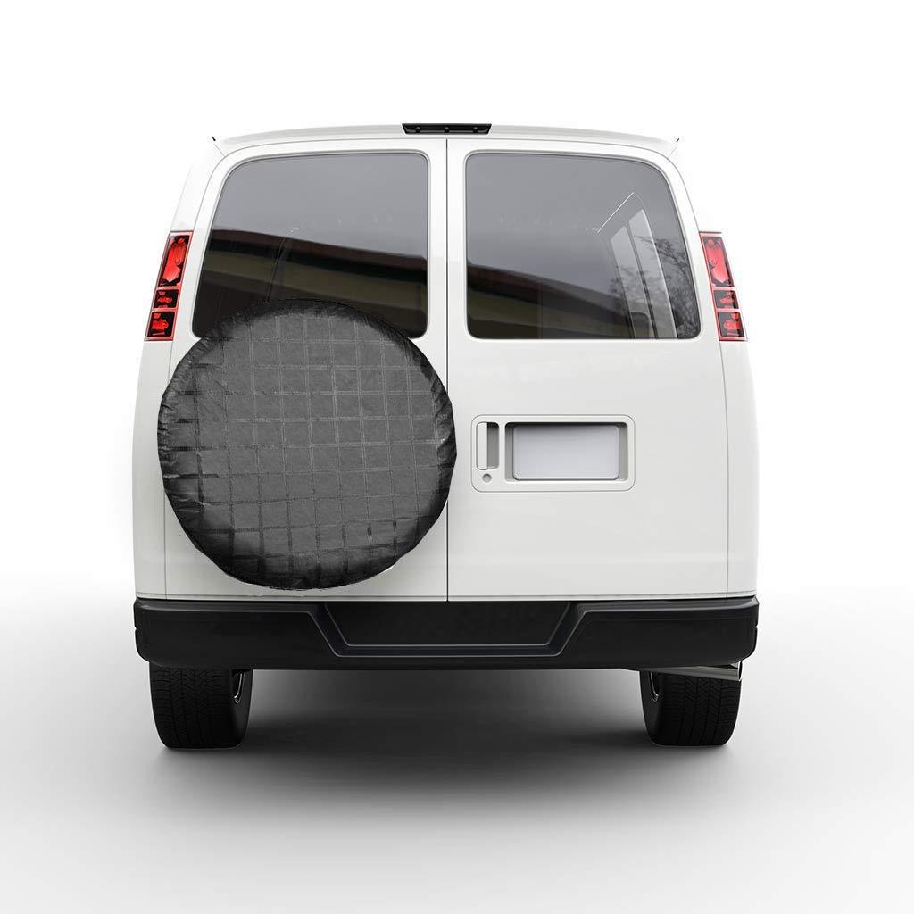MELCHEF Set of 4 Wheel Tire Covers,Tire Protectors,UV Sun Waterproof RV Trailer Tire Protectors,Fits 27 to 32 Tire Diameters,Weatherproof Tire Protectors RV Wheel Motorhome Wheel Covers