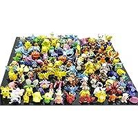 Desconocido Generic 1 Complete Set Pokemon Action Figures (144 Piece)