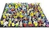 Generic Pokemon Mini Figures Pikachu Toys Topper - Lot of 24 Piece 1''