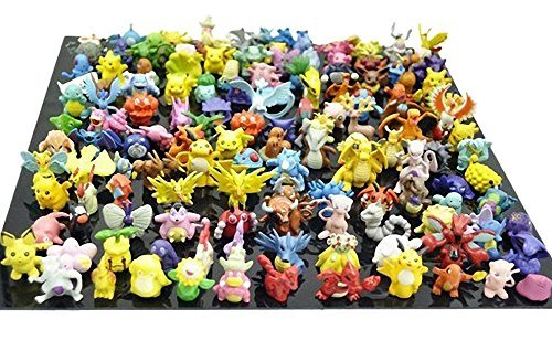 Generic Pokemon Pikachu Monster Mini Plastic Figure (24 Piece), Small Photo