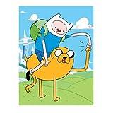 Adventure Time, Fist Pump Micro Raschel Throw, 46'' x 60''