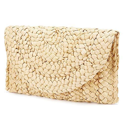 SWVIIT Straw Clutch Handbag...