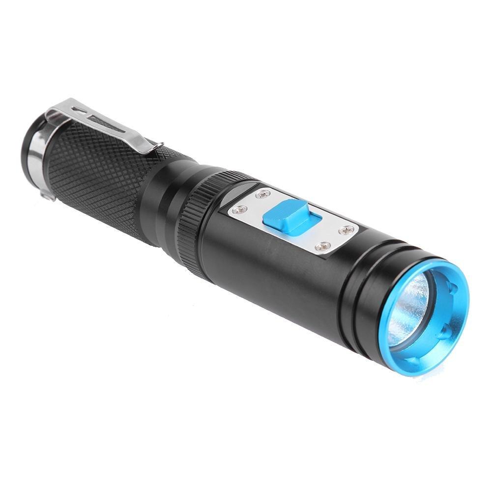 Trendyest 1300LM LED IPX8étanche plongée sous-Marine Lampe de Poche Lampe Torche d'extérieur