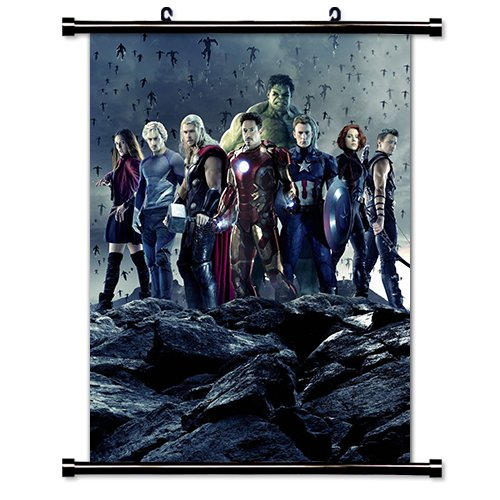 (Avengers Age of Ultron Movie Fabric Wall Scroll Poster (16 x 21) Inches)
