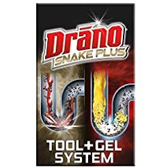 Drano Snake Plus Tool + Gel System, Comm...