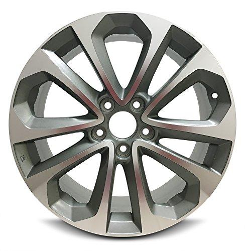 Honda Accord 18 Inch 5 Lug 10 Spoke Alloy Rim/18x8 5-114.3 Alloy Wheel (Alloy 5 Spoke)