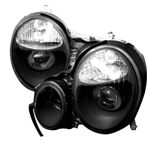 Spyder Auto PRO-CL-MW21095-BK Mercedes E-Class W210 Black Projector Headlight