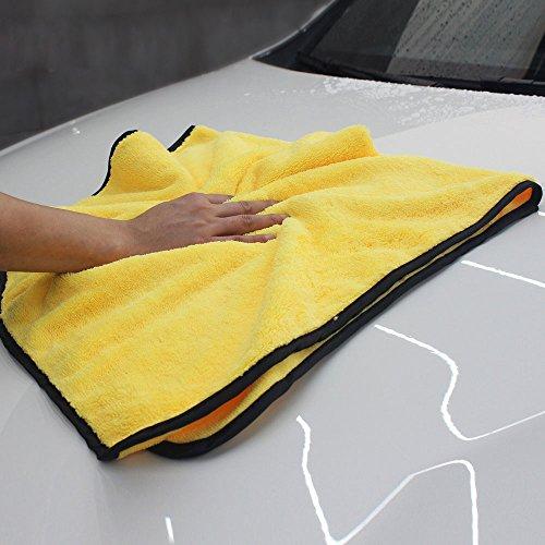 Ocamo 92x56cm Soft Microfiber Fiber Buffing Fleece Car Wash