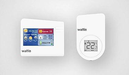 Wattio Comfort Pack Termostato: Wattio: Amazon.es: Bricolaje y ...