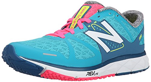 UPC 889116323155, New Balance Women's W1500 Competition Running Shoe, Blue/Pink, 5 D US