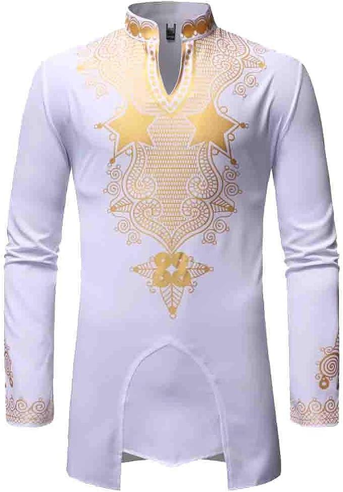Graysky - Camisa de manga larga para hombre, estilo árabe ...