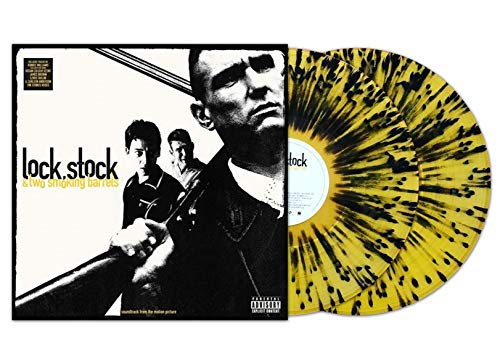 Various Artists - Lock, Stock & Two Smoking Barrels Original Soundtrack Exclusive Vinyl Limited Edition Yellow Splatter on Clear Vinyl 2X LP