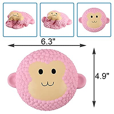 "Anboor 6.3"" Squishies Monkey Cake Slow Rising Kawaii Scented Soft Animal Squishies Toys"