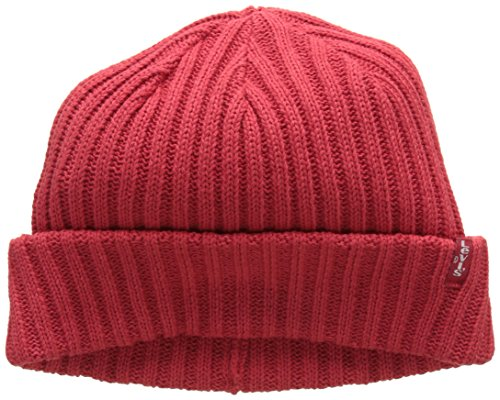 Sombrero Rojo 88 Brillant Beanie Adulto Levi's Red Ribbed Unisex qEUFwCnXR7