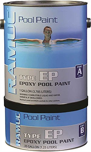 Republic Powered Metals 9081-328 Ramuc Epoxy Pool Paint Dawn Blue 1 Gallon