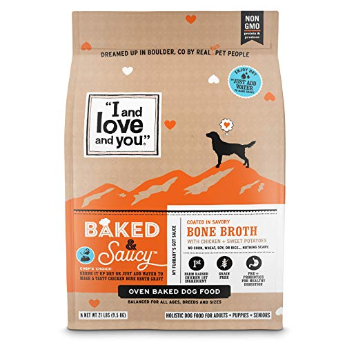 I and love and you Baked Saucy Baked Dog Kibble