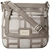 Nine West Vegas Signs Cross Body Bag,Ash Charcoal,One Size, Bags Central