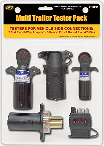 Innovative Products of America TSTPK1 Vehicle-Side Multi Trailer Circuit Tester/Jobber Pack